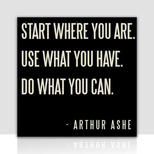 Do what you can Inspirational Quotes