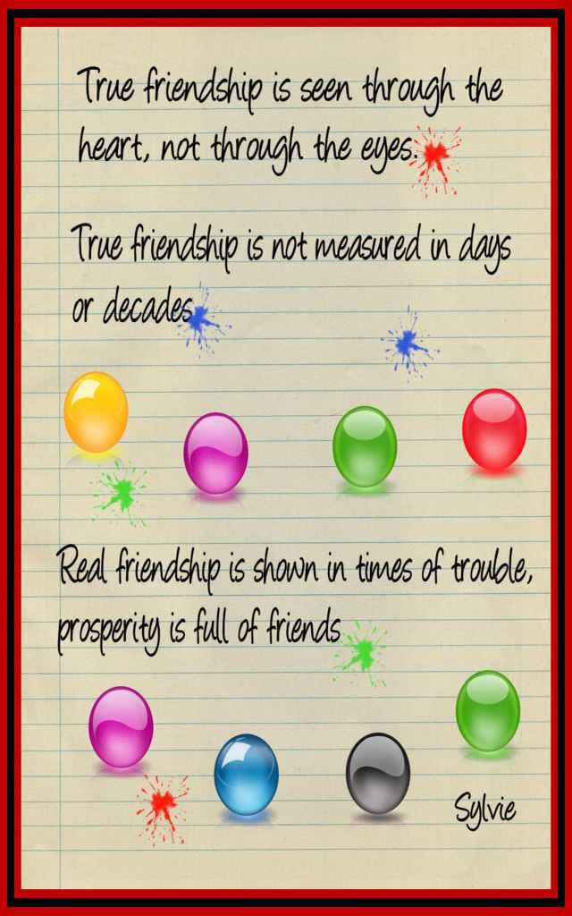 Friendship Quotes By Heart