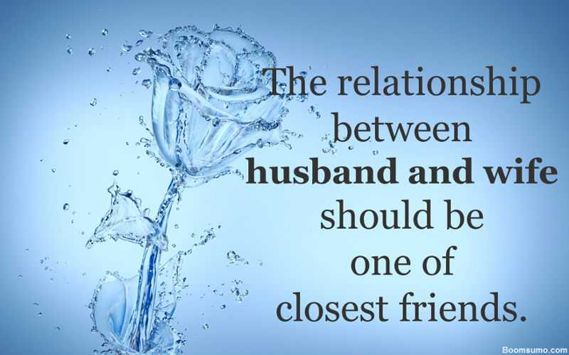 relationship between wife and husband love