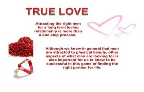 how to identify a true love