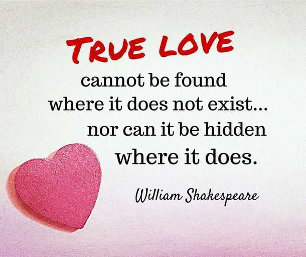 Shakespeare Quotes About Love: Inspirational Quotes About Life And Love True Life Quotes
