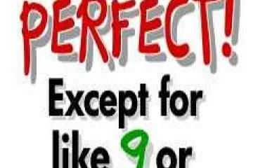 Perfect Quotes I am Perfect except for like