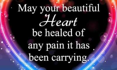 Short Love Quotes ~ Beautiful heart healed anything, Proved it