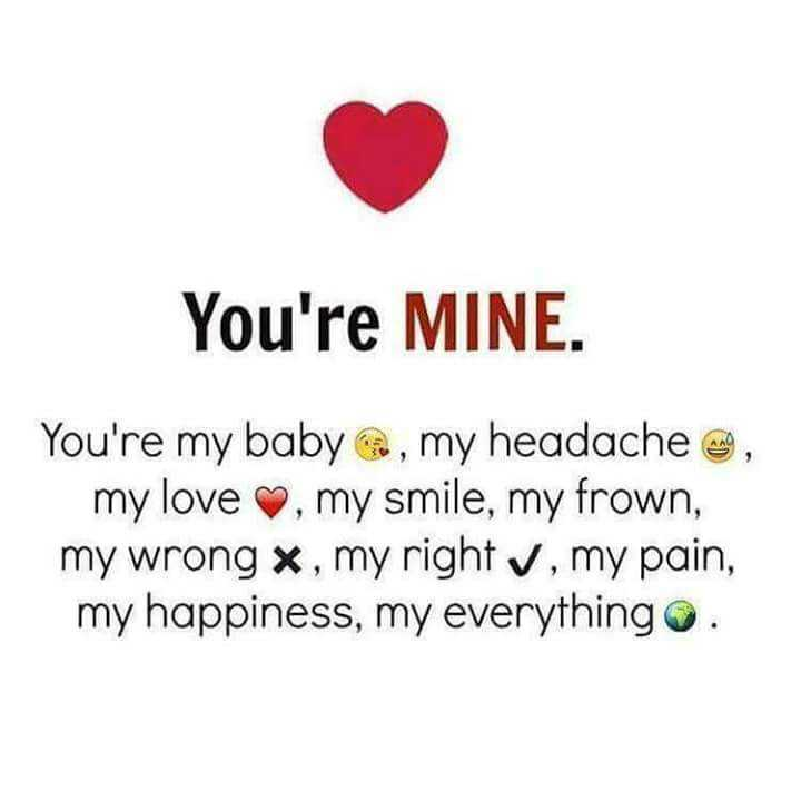 You Are Mine Always Best Love Quotes Boomsumo Quotes