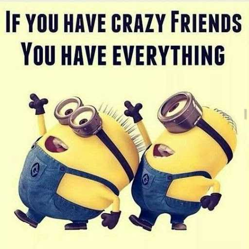 Crazy Friends Quotes You are my Crazy friends, if You have everything. friends quotes  Crazy Friends Quotes