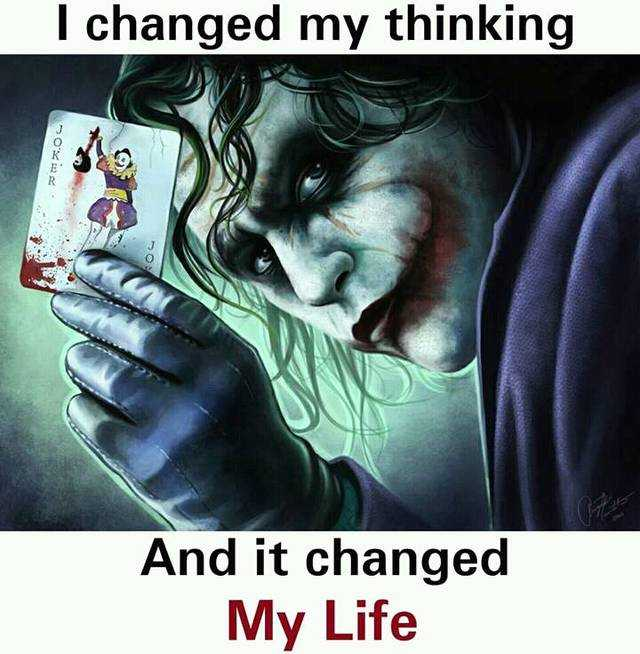 inspirational quotes on life I Changed my Thinking Life wise quotes about life