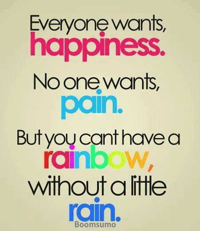 Life Quotes Everyone Wants Happiness The Way You Plan But The Pain Interesting Inspirational Thoughts