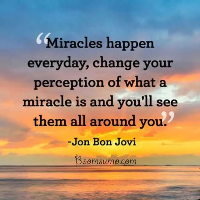 Daily Motivational Quotes: Best Inspirational Quotes 'Miracles Happen Everyday, Daily