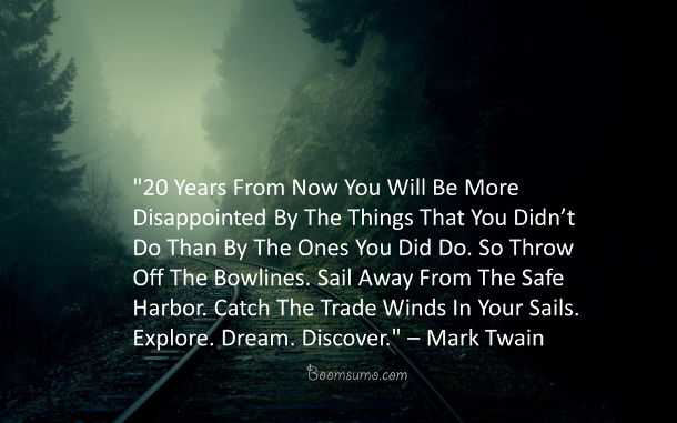 Dreams Quotes About Life Dream Discover Mark Twain Quotes. U201c