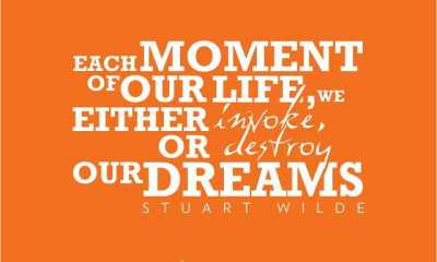 Inspiring Quotes on Dreams quotes 'Invoke or destroy Our Dreams life quotes