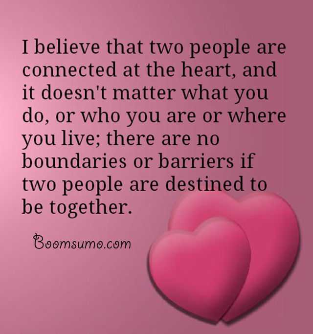 Love Quotes And Love Sayings ' Two People Are Connected Together Cool Together Quotes