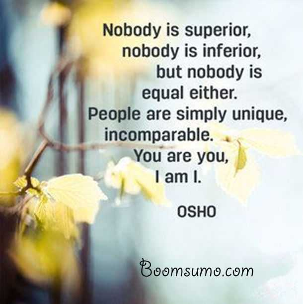 Osho Quotes About Life People Are Simply Unique Life Quotes