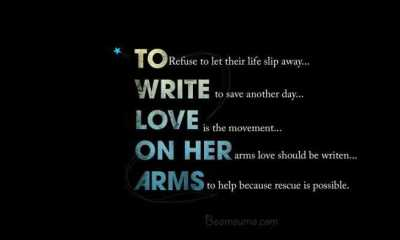 Quotes about love life 'To Write Love On Her Arms' funny quotes and sayings