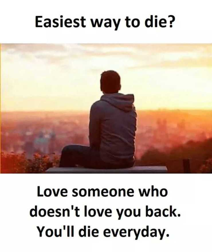 Sad Love Quotes Easy Way To Die Life And Pain Depressed Love Quotes