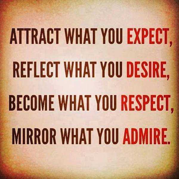Daily Inspirational Quotes: Mirror What you Admire ...