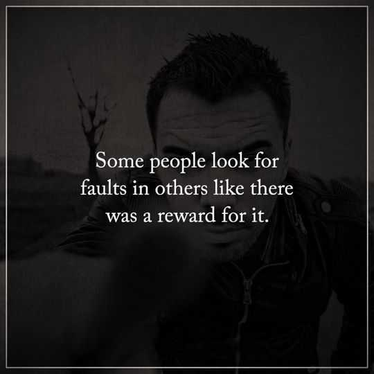 Sad Quotes About Depression: Depressed Quotes Some People Look Faults, Reward It