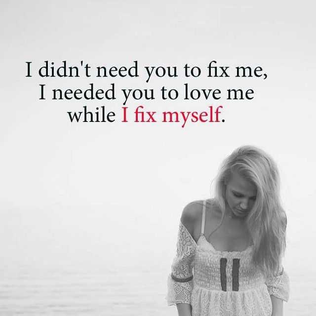 Sad Love Quotes Heart Broken Quotes: Heart Touching Sad Love Quotes 'I Fix Myself, Broken