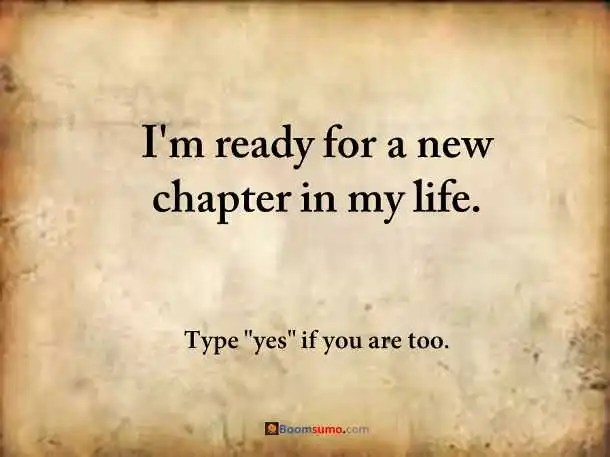 How To Move On And Starting A New Chapter In Life Boomsumo Quotes