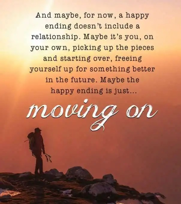 Relationships Quotes: Moving On, Happy Ending is Just ...