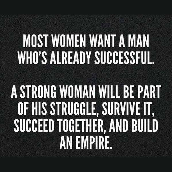 "Success Quotes For Women Custom Strong Woman Quotes ""who Build An Empire"" Success Quotes On"