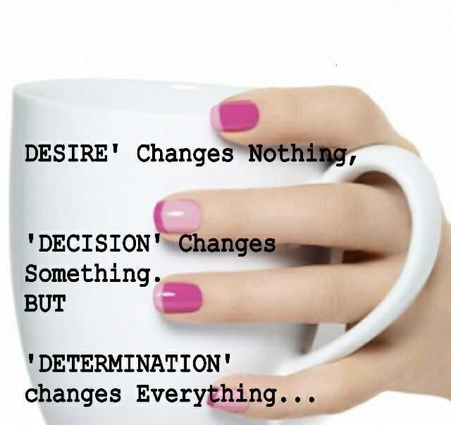 Inspirational Quotes About Life Why Determination Change Everything