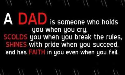 Best Fathers Day Quotes Dad Faith Even When You Fail – Good Quotes About Dads
