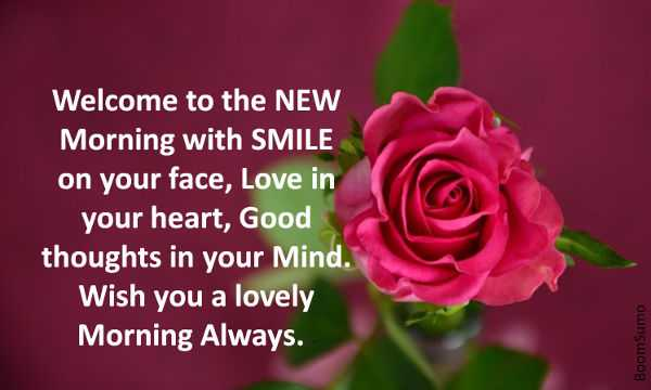 Good Morning Quotes Good Thoughts New Morning Smile Your Face
