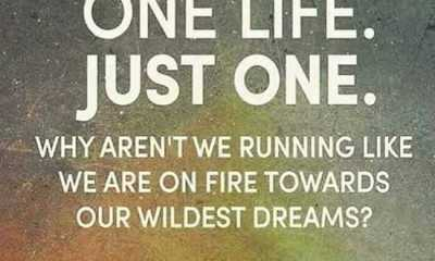 Inspirational Quotes About Dreams 'One Life Just One' Towards Dreams
