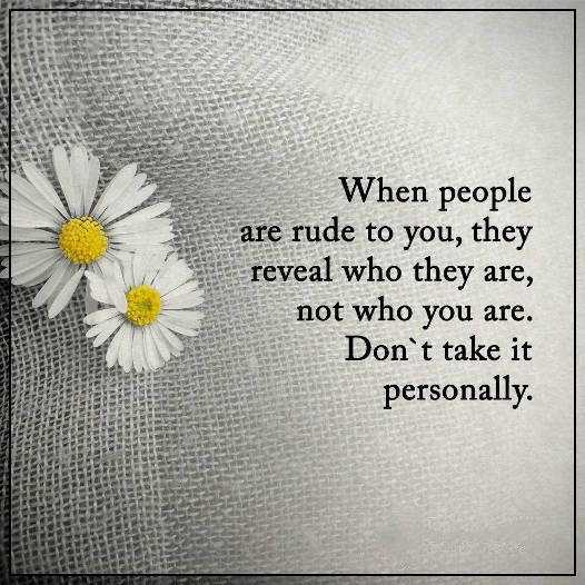Quotes And Images 2: Inspirational Life Quotes: Life Sayings When People Rude