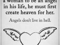 Love Quotes for Him If A Man Expects A Woman Life Angel What He Must