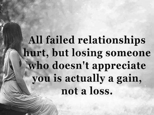 Relationships Quotes: Why Failed Relationships Happy One, Not A Loss