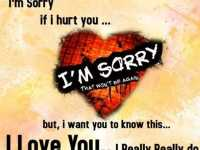 heart touching sad love quotes I Am Sorry I love you quotes about Love Sayings