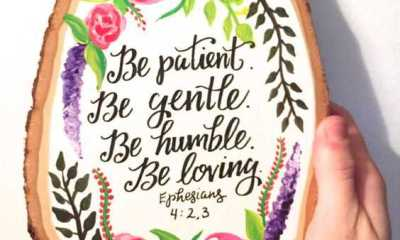 inspirational bible quotes Be patient, Be loving beautiful Life Quotes