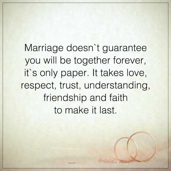 Marriage Quotes About Life Sayings Together Forever Its Not Paper