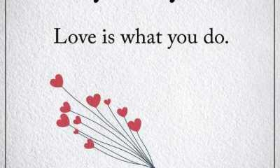 Best Love Quotes About Life sayings Love is What You Do Life Quotes