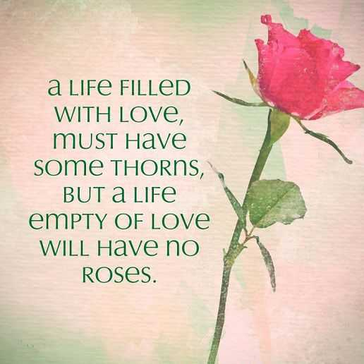 Best Love Quotes Love Sayings Let Life Filled With Love Not Filled