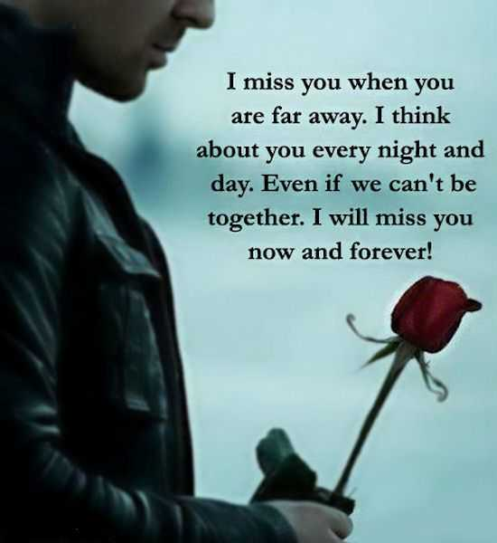 Sad I Miss U Quotes: Best Sad Love Quotes About Love 'I Miss You When You Far