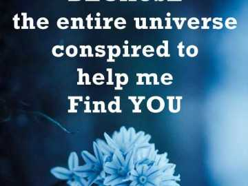 Good Morning Quotes About Love Sayings universe help me to find you