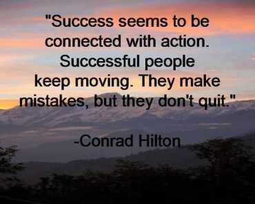 Inspirational life Quotes About Success Don't Quit Successful People