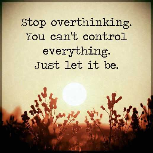 Inspirational Life Quotes: Positive Sayings Just Let It Be