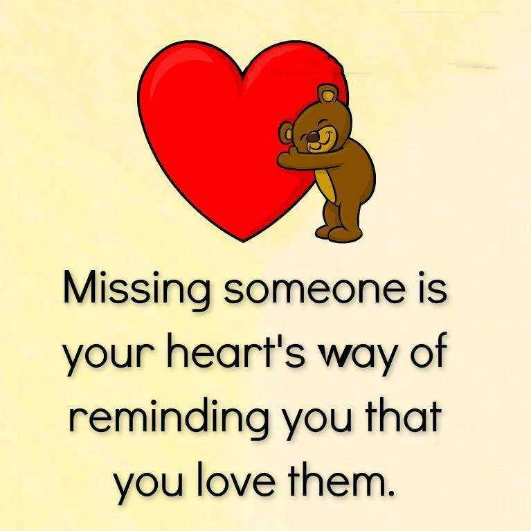 Sad I Miss You Quotes For Friends: Inspirational Love Quotes Missing Someone Your Heart, You