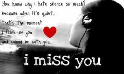 Love Quotes Why I hate You Most because Don't I Miss You