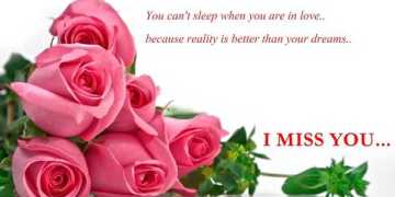 Best Love Quotes Love sayings I Miss You You Can't sleep, When You in Love