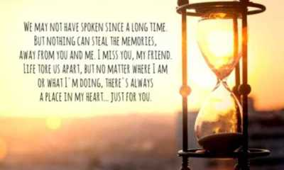 Best friendship quotes and sayings I miss you, my friend forever