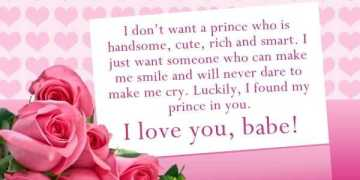 Cute Love Quotes Why I Don't Want, A Awesome Prince