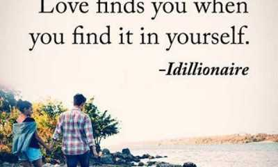Cute Love Quotes from The Heart Love Finds You When You Find