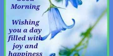 Good Morning Quotes Be Positive Day Filled With Joy And Happiness