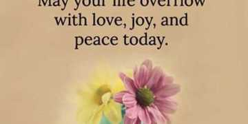 Good Morning Quotes Love Sayings Good Morning Life Overflow With Love