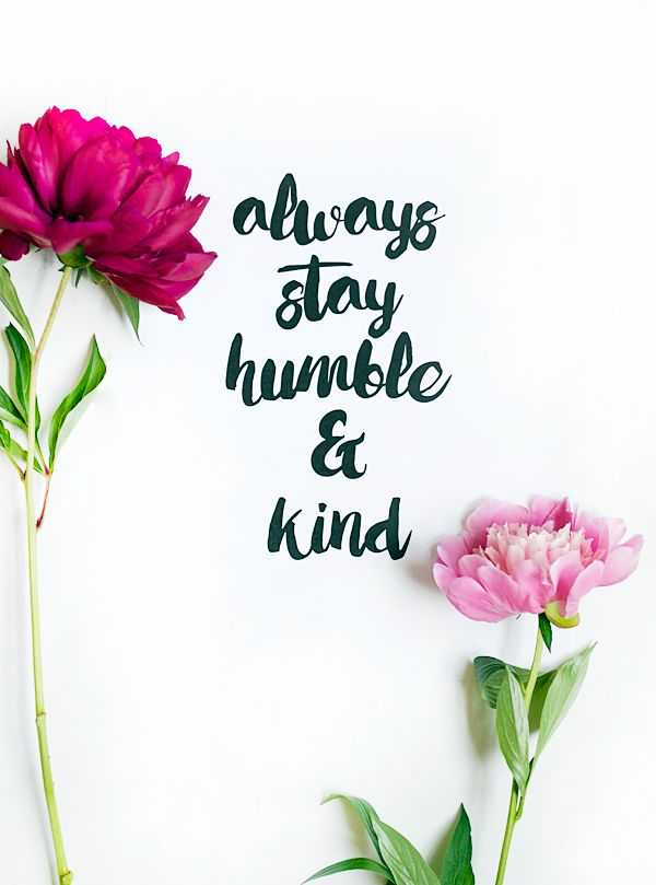 Happiness quotes Why Always Stay Humble
