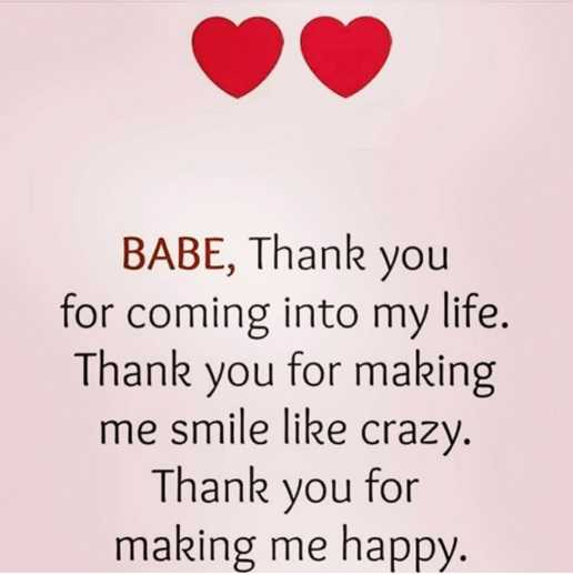 Inspirational Love Quotes Love Sayings Thank You Making